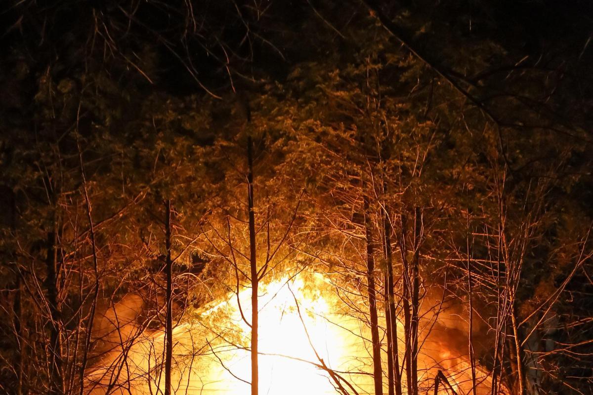 2013: 3-alarm fire on Western Avenue